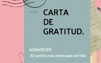 """CARTA DE GRATITUD"""